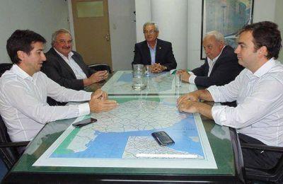 Autoridades del CIPBA se reunieron con el Ministro Cenzón
