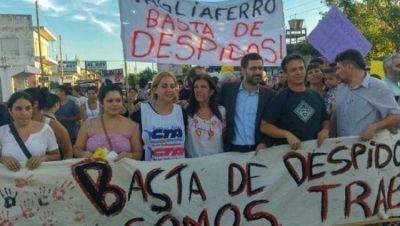 Nueva movilización popular contra los despidos masivos de trabajadores