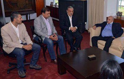 El vicegobernador Isa recibió al Subsecretario de Obras Públicas de Nación