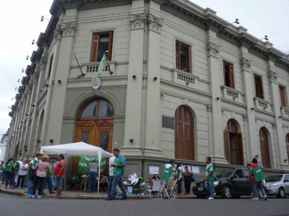 """Bravo, de ATE San Nicolás: """"La oferta salarial de Vidal fue una burla"""""""
