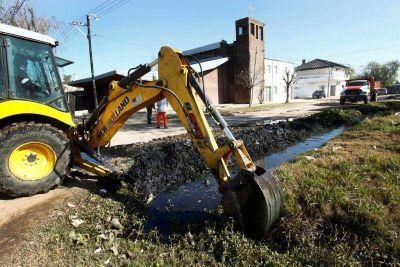 El Municipio licita los trabajos de limpieza y mantenimiento de desagües y canales
