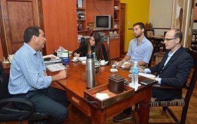 El Ministro Gelid recibió al secretario de Integración Productiva de la Nación