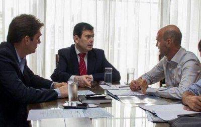El Senador Zamora se reunió con el Ministro de Transporte de la Nación