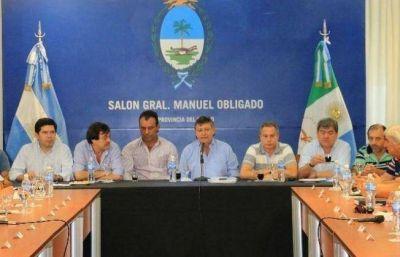 Peppo presentó a intendentes el plan de Sistema de Ciudades