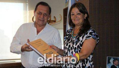 Ponferrada se reunió con el Ministro de Turismo de la Nación Gustavo Santos