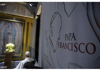 """Francisco y la """"Casita Sagrada"""" que la Virgen de Guadalupe pide que se le construya"""