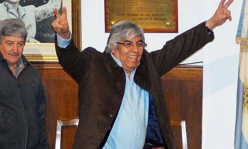 Moyano lanza su corriente política para jugar dentro del justicialismo