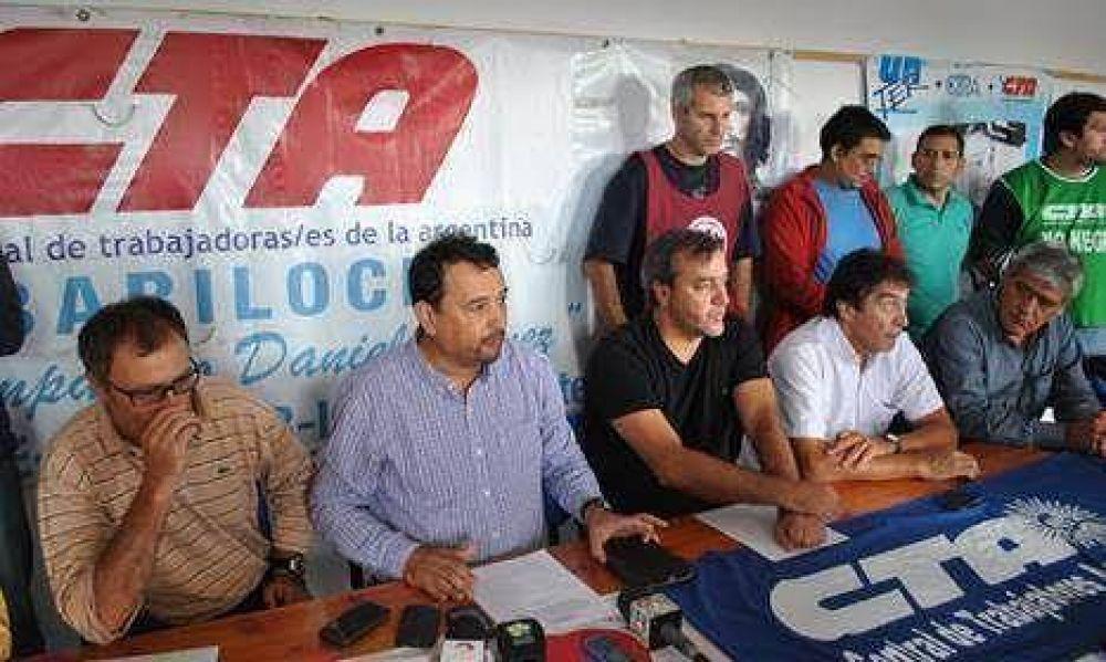 El paro del 24 unificó las dos CTA en Río Negro