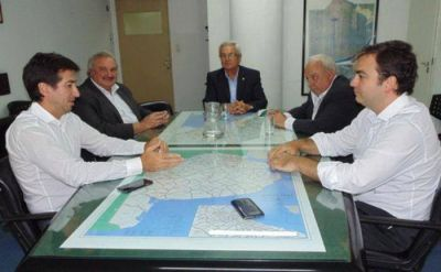 Autoridades del Colegio de Ingenieros bonaerense se reunieron con el Ministro de Infraestructura
