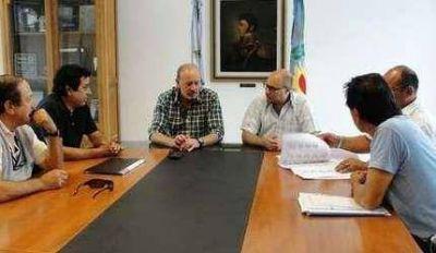 El intendente se reuni� con la UOCRA: proyectan un barrio de 60 casas