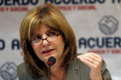 La ministra Bulrich viene a presentar el plan nacional contra el narcotráfico