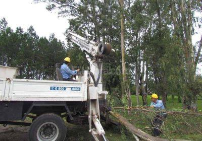 Más del 90% de la ciudad recuperó el servicio eléctrico