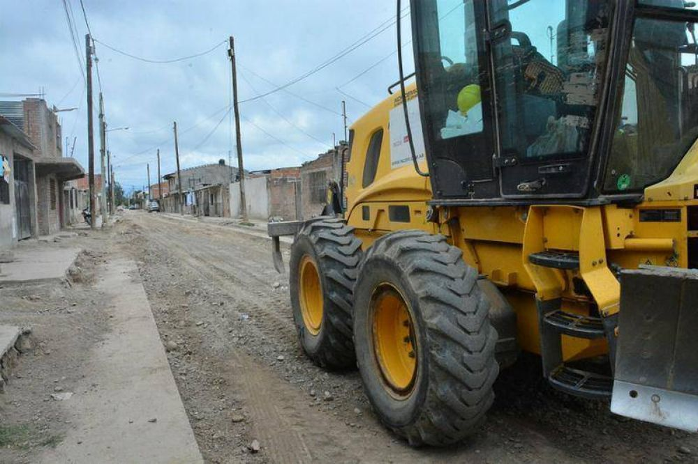 Se ponen en marcha obras para mejorar los accesos a las viviendas de la zona oeste alta