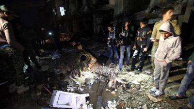 Violencia en Siria: al menos 180 muertos en tres ataques