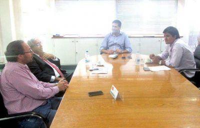 El ministro Montero recibi� al presidente de la C�mara de Diputados