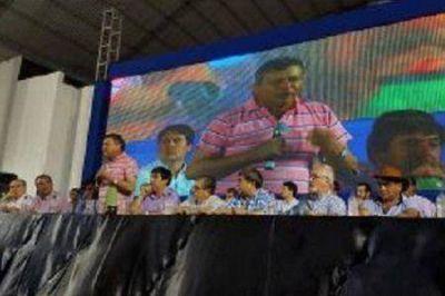 Peppo Presidente: El Congreso del PJ acordó que el Gobernador presida y evitar a interna