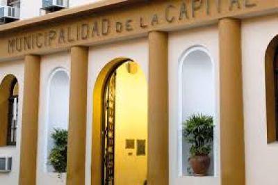 La Municipalidad de la Capital llamó a licitación pública para obras de pavimento en barrios capitalinos