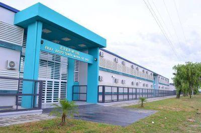 El acto de inicio del ciclo lectivo 2016 se hará en la nueva escuela 136 del barrio Eva Perón