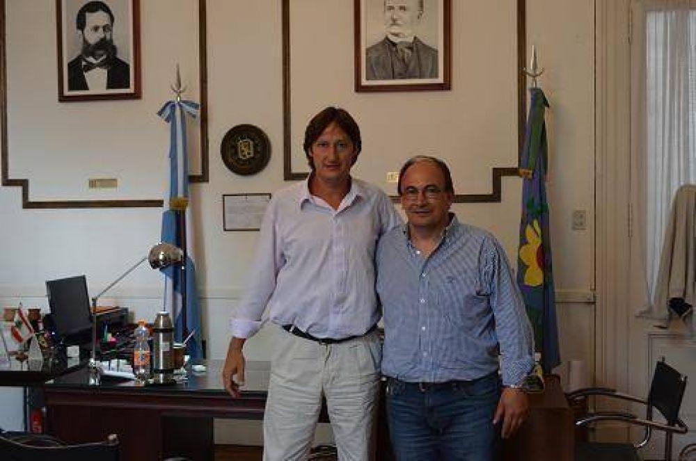 El Intendente recibió al nuevo Director Regional de IOMA