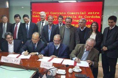 La Provincia firma contratos por gasoductos troncales en Beijing