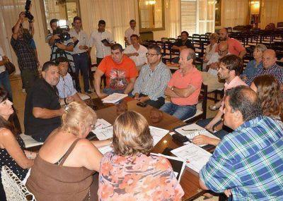 Acuífero: en un plenario de concejales y con los gremios se debatió el convenio