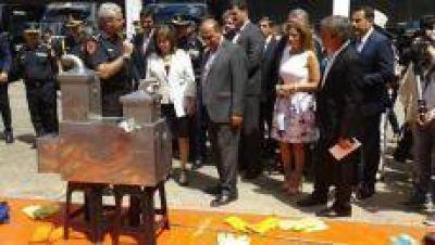 En Tucumán se inauguró la primera Unidad de Lucha contra el Narcotráfico