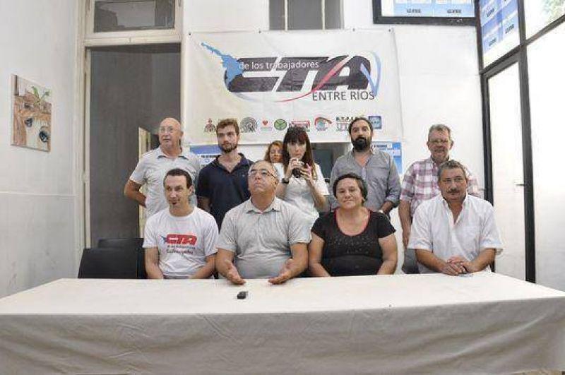 CTA Entre R�os convoc� a la movilizaci�n del 24 de febrero