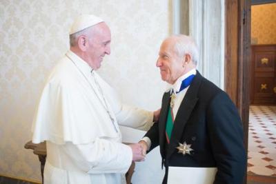 El embajador ante la Santa Sede presentó sus cartas credenciales