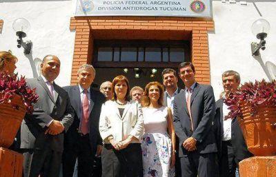 Urtubey participó en Tucumán de la inauguración de organismos de seguridad con jurisdicción regional