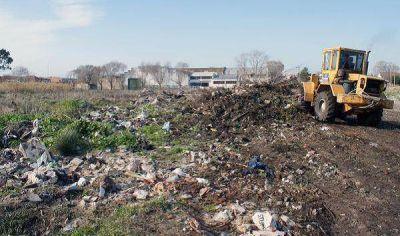 Paro en el predio de disposición final de residuos