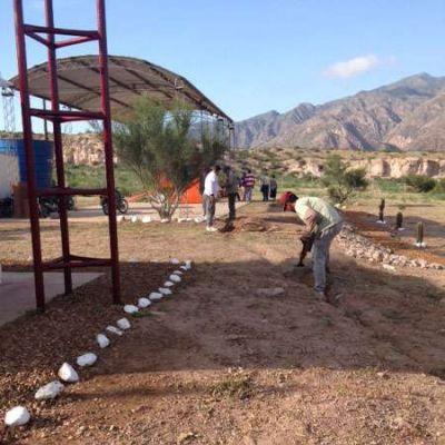 Trabajan en la instalaci�n de las plantas tratamiento de residuos s�lidos urbanos en Chamical y Sanagasta