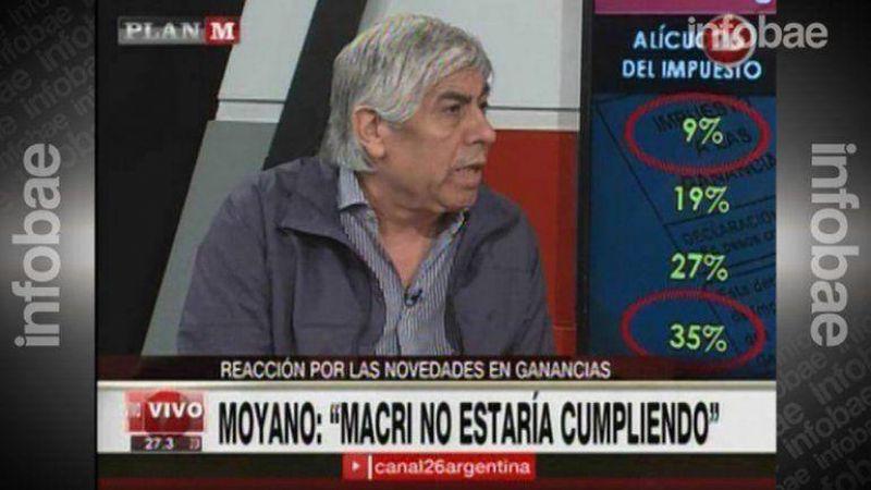 Hugo Moyano comparó a Mauricio Macri con Carlos Menem: