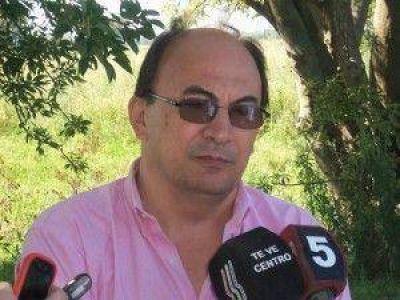 "Salomón: ""La obra de agua en Polvaredas fue inaugurada simbólicamente porque no está terminada"""