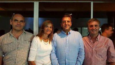 Los concejales del Frente Renovador se reunieron con Sergio Massa