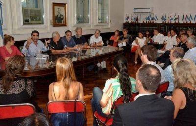 Capitanich breg� por la unidad del PJ, en una reuni�n con legisladores