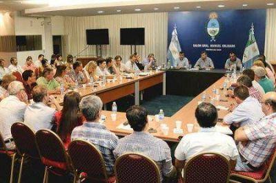 Peppo definió con su equipo la presentación del plan de gobierno ante la Legislatura