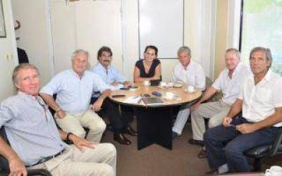 Sarquís se reunió con representantes de Argentrigo y CEDASABA
