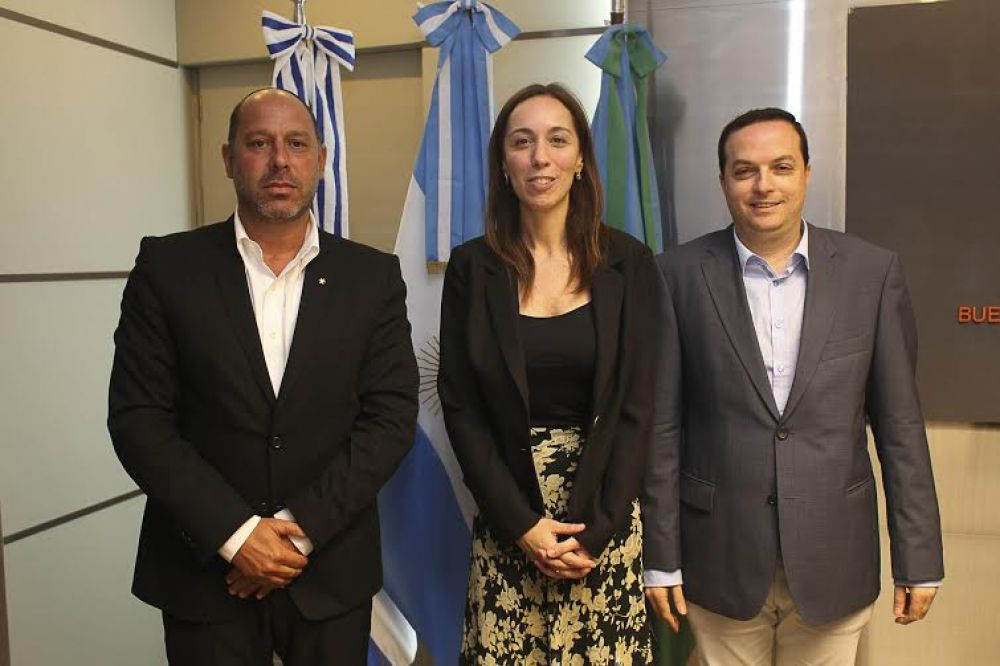 María Eugenia Vidal recibió a autoridades de la AMIA