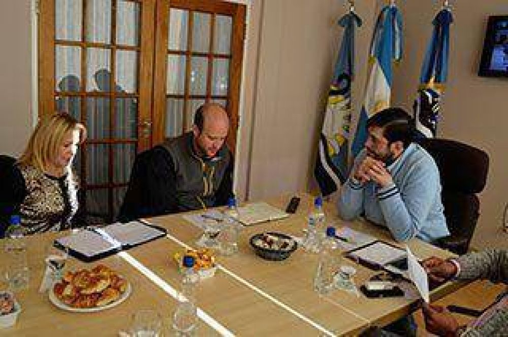 Casarini se reunió con representantes de la minera GoldCorp–Cerro Negro