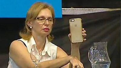 La nueva pasión de Beatriz de Alperovich, en el congreso del PJ