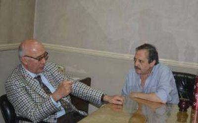 Gorosito se reunió Ricardo Alfonsín en Saladillo