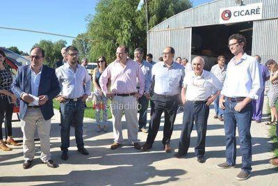 Funcionarios nacionales y provinciales visitaron industrias y empresas de nuestra ciudad