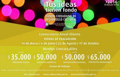Capacitan sobre formulación de proyectos para el Fondo Ciudadano