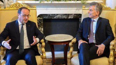 La nueva política exterior: los 7 puntos del acuerdo que Mauricio Macri firmó con Hollande