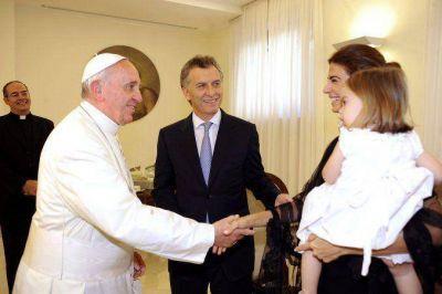 Macri viaja este jueves a Roma para encontrarse con Francisco
