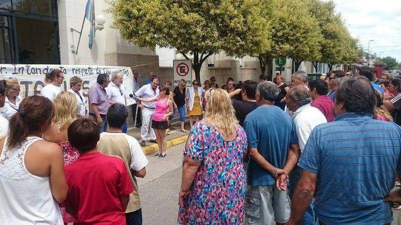 Con presencia de dirigentes de FESIMUBO los municipales de Dolores realizaron una nueva asamblea