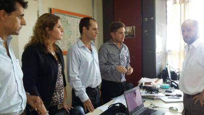 Los concejales de UCR – Cambiemos fueron recibidos por el Director Provincial de Políticas Alimentarias