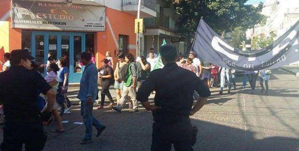 Afiliados y empleados de ATE se movilizaron en la Capital
