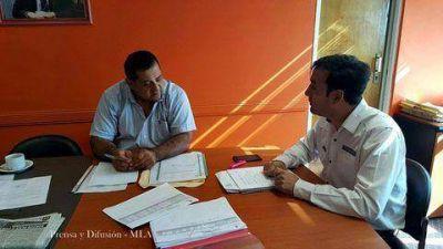 Intendente Mercado se reunió con el presidente del IDUV