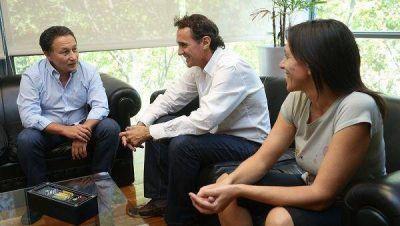 Katopodis y Ceballos mantuvieron una reunión de trabajo en San Martín